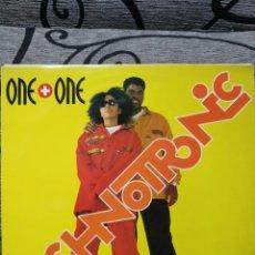 Discos de vinilo: TECHNOTRONIC – ONE + ONE. Lote 289915348