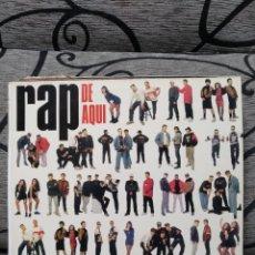 Discos de vinilo: RAP DE AQUI. Lote 289928838
