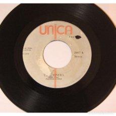 Discos de vinilo: PASTOR LOPEZ - TRAICIONERA / MI COMPADRE VILLANUEVA, VINILO, 45 RPM.. Lote 289944043