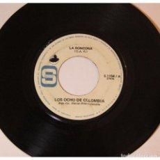Discos de vinilo: LOS OCHO DE COLOMBIA - LA RONCONA / TU MALTRATO, 45RPM, VINILO.. Lote 289947788