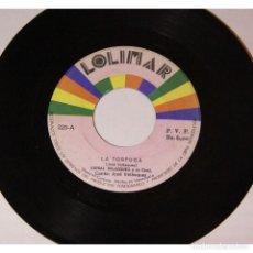 Discos de vinilo: ANIBAL VELASQUEZ Y SU CONJUNTO - LA TORTUGA / CANDELARIO, 45RPM, VINILO.. Lote 289952973