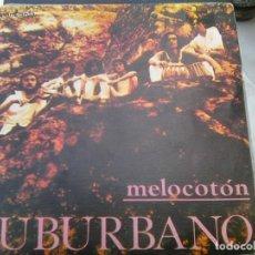 Discos de vinilo: SUBURBANO - MELOCOTÓN + MARISMAS (GUIMBARDA, 1987) - MUY NUEVO. Lote 289999898