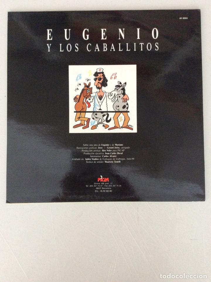 Discos de vinilo: Eugenio y los caballitos. - Foto 2 - 290018153