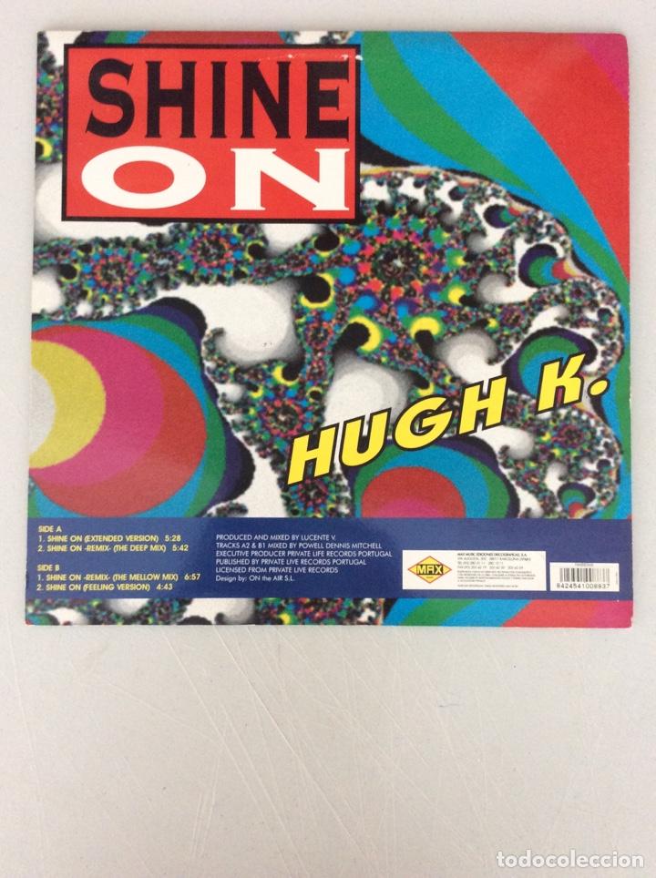 Discos de vinilo: Shine On. Hugh k - Foto 2 - 290020923