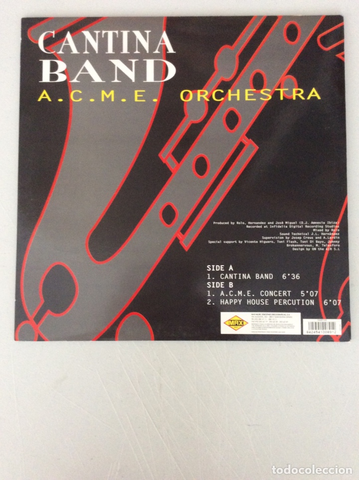 Discos de vinilo: A.C.M.E. Orchestra. Cantina band - Foto 2 - 290021468