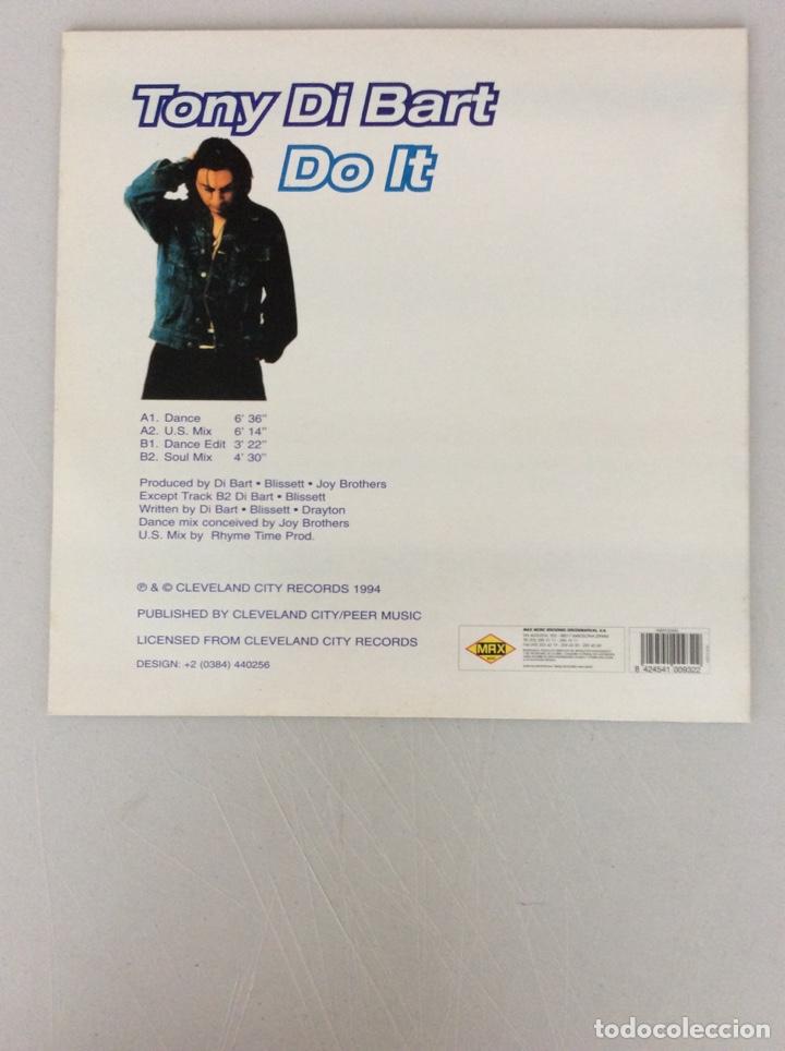 Discos de vinilo: Tony Di Bart. Do it - Foto 2 - 290021708