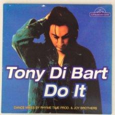 Discos de vinilo: TONY DI BART. DO IT. Lote 290021708