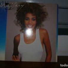 Discos de vinilo: WHITNEY HOUSTON LP ARISTA 1987 WHITNEY ENCARTE CON LETRAS. Lote 290025088