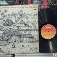 Discos de vinilo: CARLOS MEJIA GODOY Y LOS DE PALACAGÜINA. EL SON NUESTRO DE CADA DÍA. CBS 1977, REF. S 82101 - LP. Lote 290032533