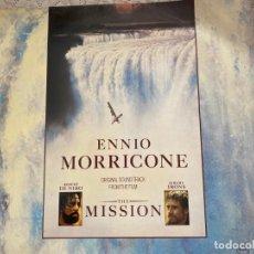 Discos de vinilo: LP ENNIO MORRICONE-THE MISSION. Lote 290045243