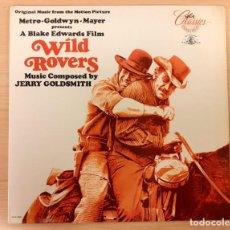 Discos de vinilo: WILD ROVERS (DOS HOMBRES CONTRA EL OESTE) JERRY GOLDSMITH MCA RECORDS 1986 COMO NUEVO!!. Lote 290053868