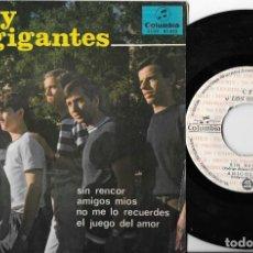 Discos de vinilo: CEFE Y LOS GIGANTES EP SIN RENCOR PROMO GARAGE KILLER BEAT. Lote 290061283