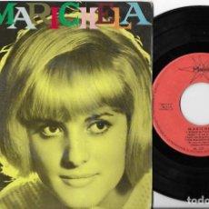 Discos de vinilo: MARICHELA EP NINGUNO ME PUEDE JUZGAR MARFER 1966. Lote 290061548