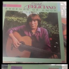 Discos de vinilo: D. LPS. JOSE FELICIANO, ESCENAS DE AMOR Y DEMAS.. Lote 290071063