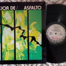 Discos de vinilo: ASFALTO. Lote 290081623