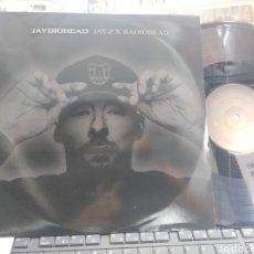 Discos de vinilo: JAYDIOHEAD LP JAY-Z X RADIOHEAD MONTY FRESH BEATS. Lote 290090068