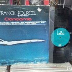 Discos de vinilo: FRANK POURCEL. CONCORDE. EMI 1975 -- LP. Lote 290091653