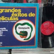 Discos de vinilo: HENRY SALOMÓN Y SU ORQUESTA. GRANDES ÉXITOS DE PELICULAS. ORLADOR 1975, REF. 54643 -- LP. Lote 290093178