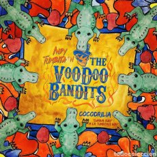 Discos de vinilo: INDY TUMBITA&THE VOODOO BANDITS–COCODRILIA (CUMBIA SURF A LA TUMBITA'S WAY) LP VINILO. Lote 290093448
