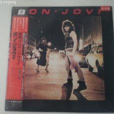 Discos de vinilo: VINILO EDICIÓN JAPONESA PROMO DEL LP DE BON JOVI - BON JOVI. Lote 290098593