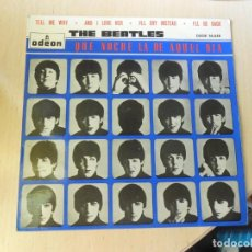 """Discos de vinilo: BEATLES, THE - FILM: """"A HARD DAY´S NIGHT"""" -, EP, TELL ME WHY + 3, AÑO 1964. Lote 290101588"""