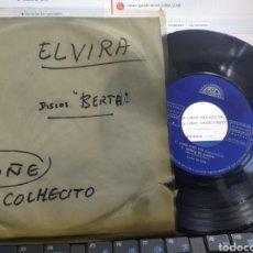 Discos de vinilo: ELVIRA EP CAPRI C'EST FINI + 3 BERTA 1965. Lote 290107193