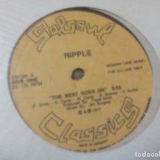 Discos de vinilo: MX. SALSOUL CLASSICS - RIPPLE / BUNNY SIGLER. Lote 290112458