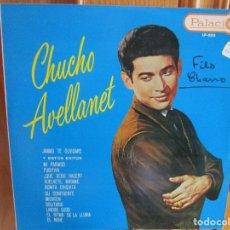 Discos de vinilo: LP HECHO EN VENEZUELA CHUCHO AVELLANET EL RITMO DE LA LLUVIA , JAMAS TE OLVIDARE , MI PARAISO ,. Lote 290113473