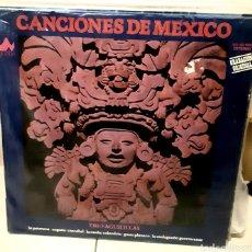 Discos de vinilo: MUSICA GOYO - LP - TRIO AGUILILLAS - CANCIONES DE MÉXICO - RARO - AA99. Lote 290133483