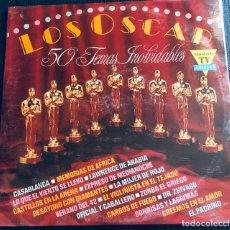 Discos de vinilo: 'LOS OSCAR - 50 TEMAS INOLVIDABLES'. 3 LPS VINILO. 1991. BUEN ESTADO.. Lote 290134973