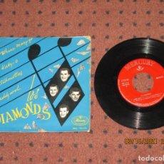 Discos de vinilo: LOS DIAMONDS - WHERE MARY GO - EP - SPAIN - MERCURY - REF MG-10.123 - L -. Lote 290135333