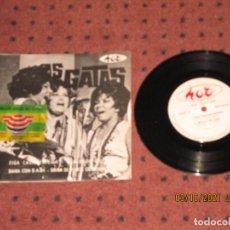 Discos de vinilo: AS GATAS - FIGA CASAMENTEIRA - EP - BRASIL - HOT - REF HOT-010-CD - L -. Lote 290135798