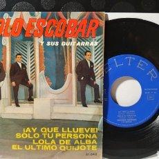Discos de vinilo: SINGLE/ MANOLO ESCOBAR Y SUS GUITARRAS  / *REF.A.18*. Lote 290136678
