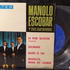 Discos de vinilo: SINGLE/ MANOLO ESCOBAR Y SUS GUITARRAS / *REF.A.18*. Lote 290137003