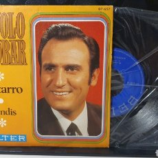 Discos de vinilo: SINGLE/ MANOLO ESCOBAR / *REF.A.18*. Lote 290137698