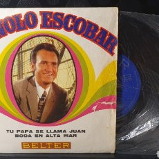Discos de vinilo: SINGLE/ MANOLO ESCOBAR / *REF.A.18*. Lote 290137833