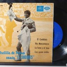 """Discos de vinilo: SINGLE/ ESTRELLITA DE PALMA CANTA """"EL CORDOVES"""" / *REF.A.18*. Lote 290138103"""