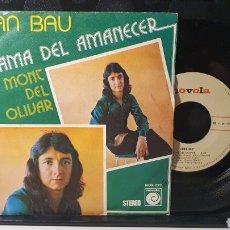 Discos de vinilo: SINGLE/ JUAN BAU / *REF.A.18*. Lote 290138428