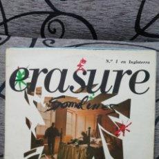 Discos de vinil: ERASURE – SOMETIMES = DE VEZ EN CUANDO. Lote 290139238
