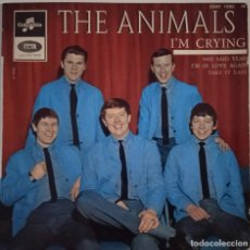 Discos de vinilo: THE ANIMALS... I'M CRYING. (COLUMBIA 1964) FRANCIA. Lote 290140263