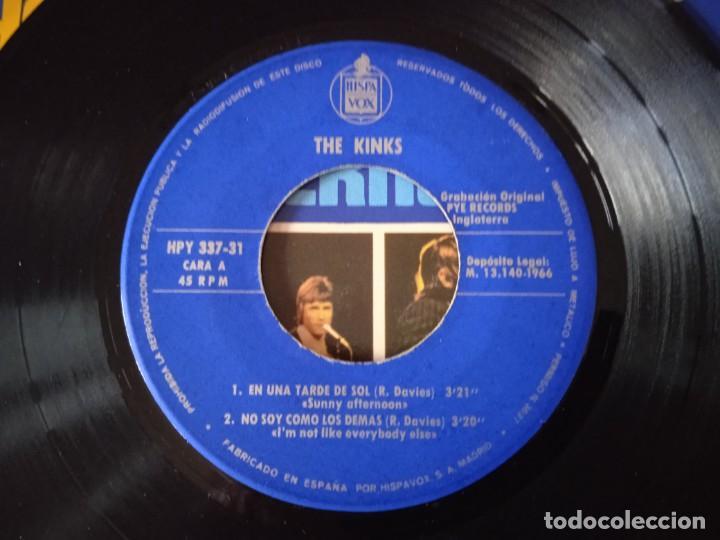Discos de vinilo: The Kinks!... En Una Tarde De Sol = Sunny Afternoon. (Pye Records 1966) Spain. - Foto 4 - 290141233