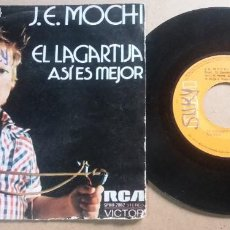 Discos de vinil: J. E. MOCHI / EL LAGARTIJA / SINGLE 7 PULGADAS. Lote 290178428