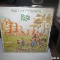 Dischi in vinile: STEEL PULSE – TRIBUTE TO THE MARTYRS - 1979 - REGGAE. Lote 290187193