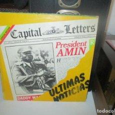 Dischi in vinile: CAPITAL LETTERS -ULTIMAS NOTICIAS -REGGAE -LP 1980 EDIGSA. Lote 290187993