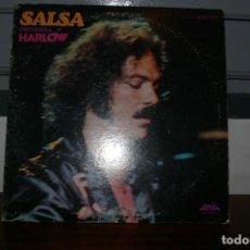 Disques de vinyle: ORQUESTA HARLOW LP SALSA USA 1974 FANIA. Lote 290191563