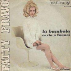 Discos de vinil: PATTY PRAVO - LA BAMBOLA - SINGLE DE VINILO EDICION ESPAÑOLA. Lote 290209138