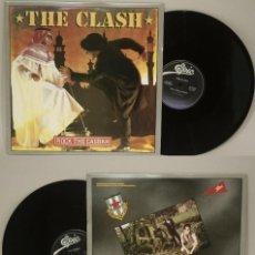Discos de vinilo: THE CLASH / ROCK THE CASBAH 1982 !! RARA 1ª EDIC ORG USA, 12 PULGADAS, IMPECABLE. Lote 290228178