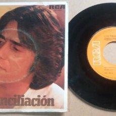 Discos de vinil: LUIS FIERRO / RECONCILIACION / SINGLE 7 PULGADAS. Lote 290255438