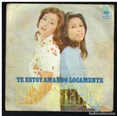 Dischi in vinile: LAS GRECAS - TE ESTOY AMANDO LOCAMENTE / AMMA IMMI - SINGLE 1973 - SOLO PORTADA, SIN VINILO. Lote 290258883