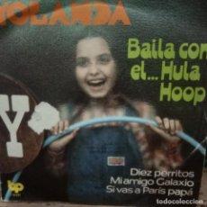 Discos de vinilo: YOLANDA VENTURA -PRE-PARCHIS -EP -. Lote 290270853
